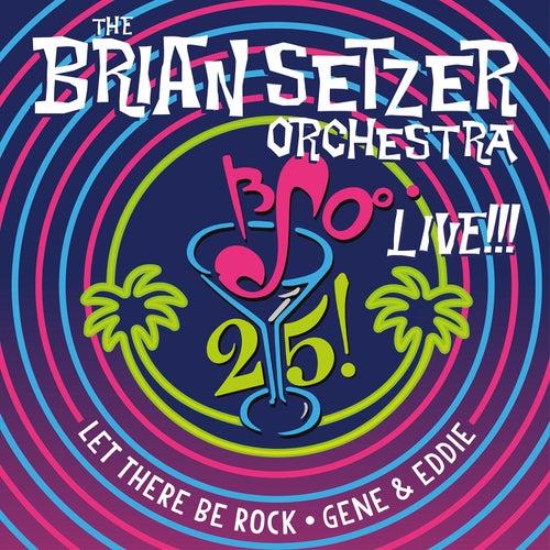 25 Live! by Brian Setzer