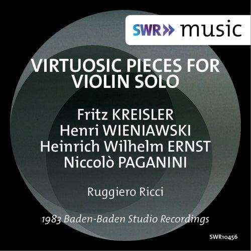 Virtuosic Pieces for Violin Solo de Ruggiero Ricci