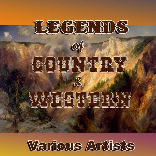 Legends of Country & Western de Various Artists