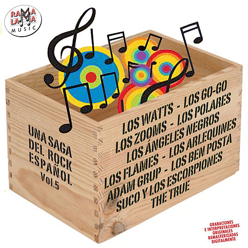 Una Saga del Rock Español, Vol. 5 de Various Artists