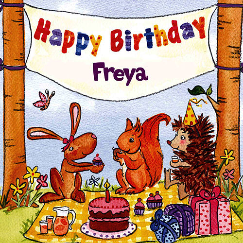 Happy Birthday Freya von The Birthday Bunch