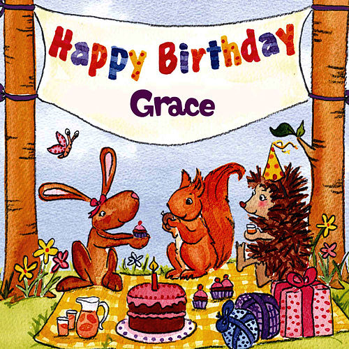 Happy Birthday Grace von The Birthday Bunch