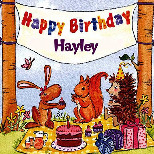Happy Birthday Hayley von The Birthday Bunch