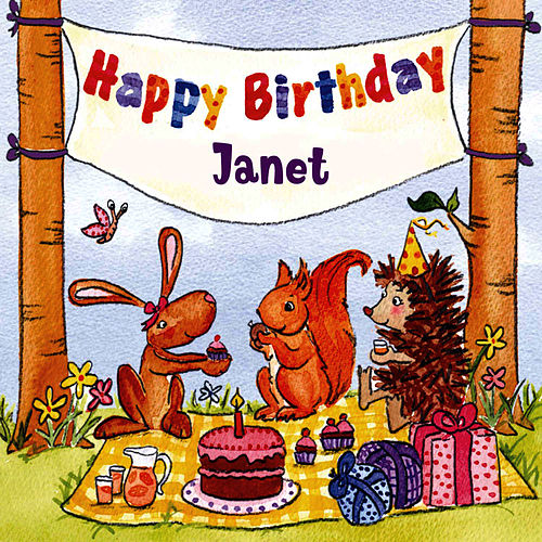 Happy Birthday Janet von The Birthday Bunch