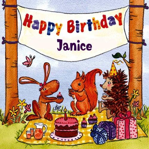 Happy Birthday Janice von The Birthday Bunch