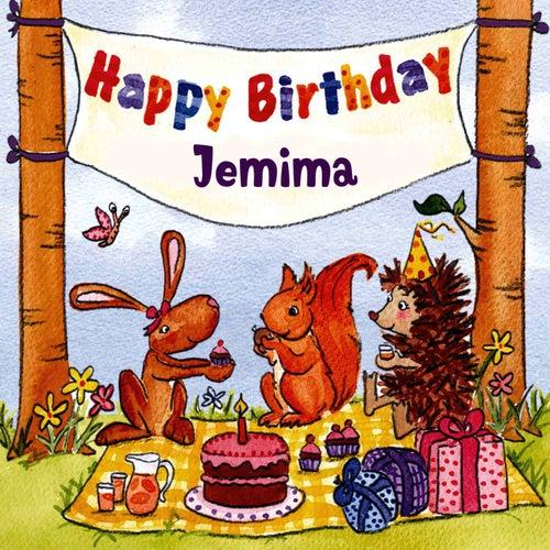 Happy Birthday Jemima von The Birthday Bunch