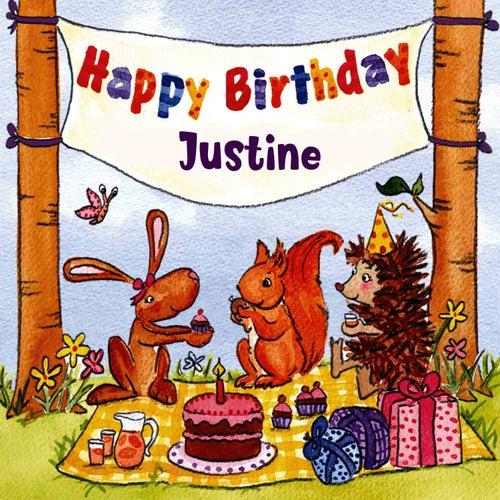 Happy Birthday Justine von The Birthday Bunch