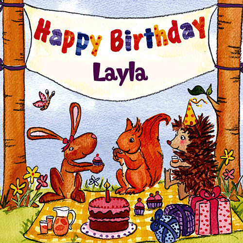 Happy Birthday Layla von The Birthday Bunch