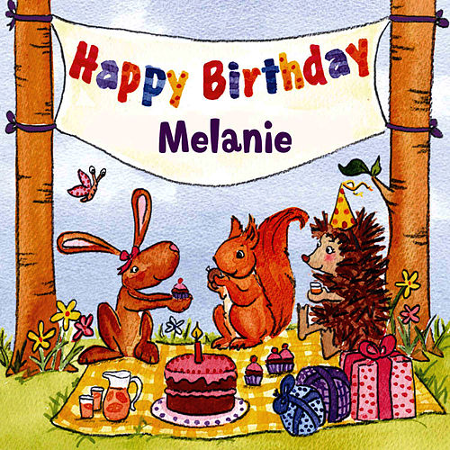 Happy Birthday Melanie von The Birthday Bunch