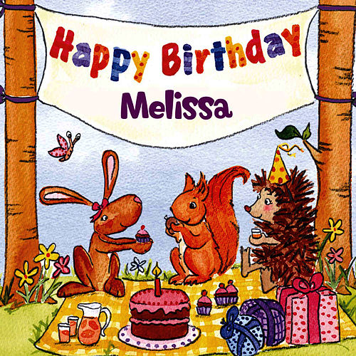 Happy Birthday Melissa von The Birthday Bunch