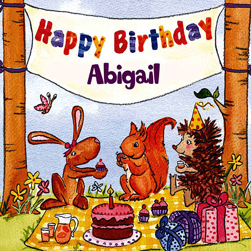 Happy Birthday Abigail von The Birthday Bunch