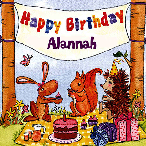 Happy Birthday Alannah von The Birthday Bunch