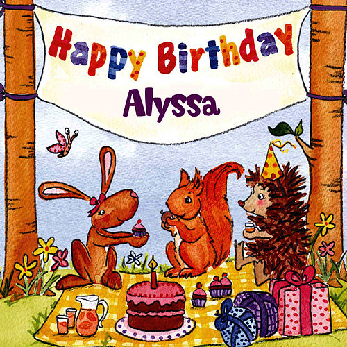 Happy Birthday Alyssa von The Birthday Bunch