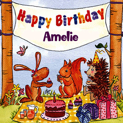 Happy Birthday Amelie von The Birthday Bunch