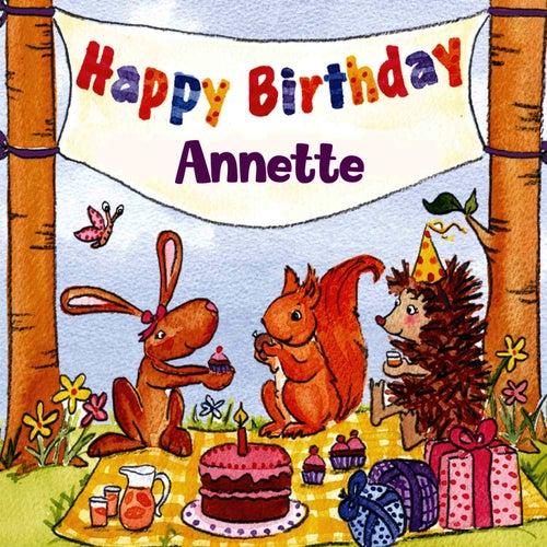 Happy Birthday Annette von The Birthday Bunch