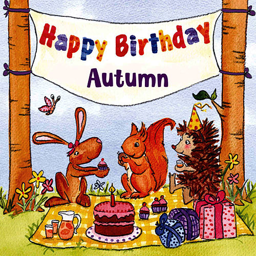 Happy Birthday Autumn von The Birthday Bunch