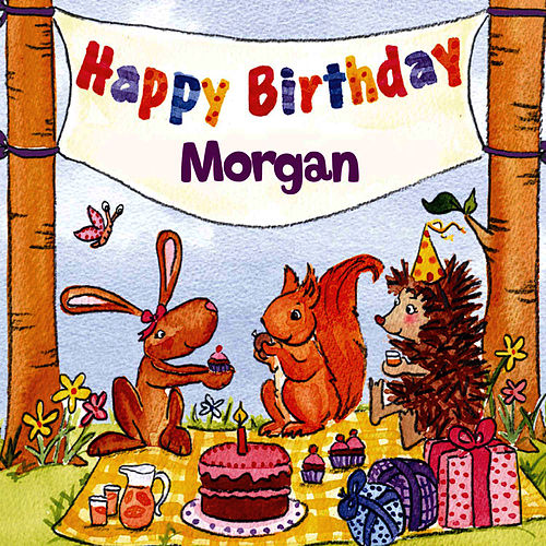 Happy Birthday Morgan von The Birthday Bunch