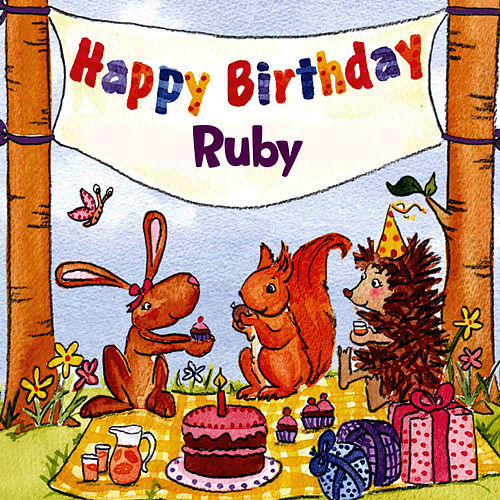 Happy Birthday Ruby von The Birthday Bunch