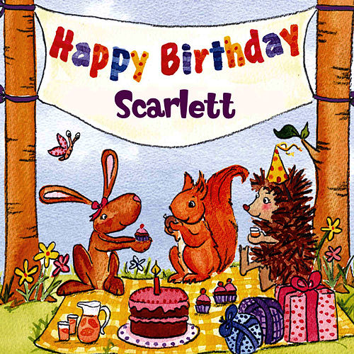 Happy Birthday Scarlett von The Birthday Bunch