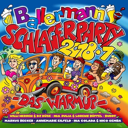 Ballermann Schlagerparty 2018.1 (Das Warmup) von Various Artists