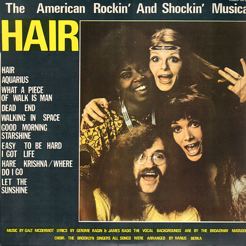 Hair, The American Rockin' and Shokin' Musical de Various