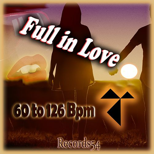 Records54 Full in Love: 60 to 126 Bpm de Various Artists