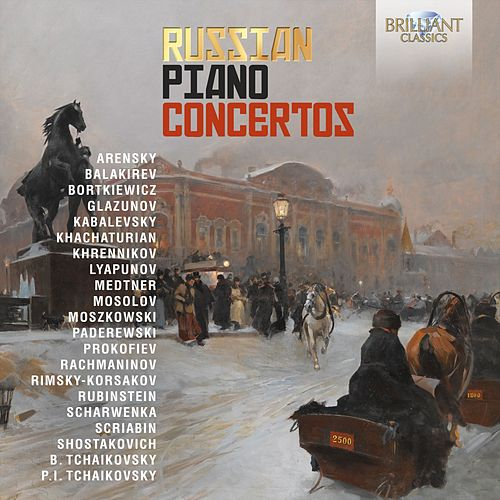 Russian Piano Concertos fra Various Artists
