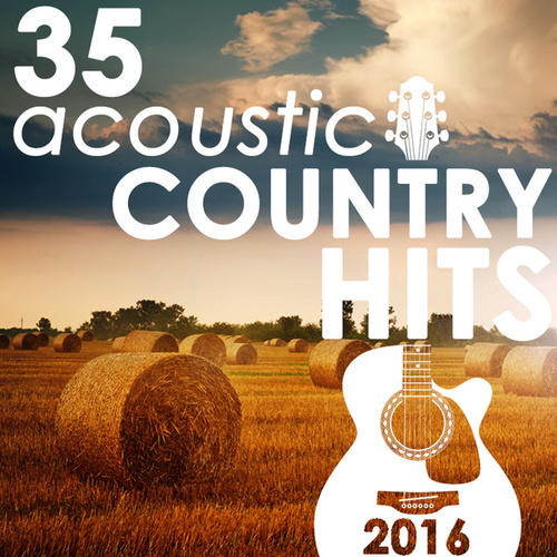 35 Acoustic Country Hits 2016 de Guitar Tribute Players