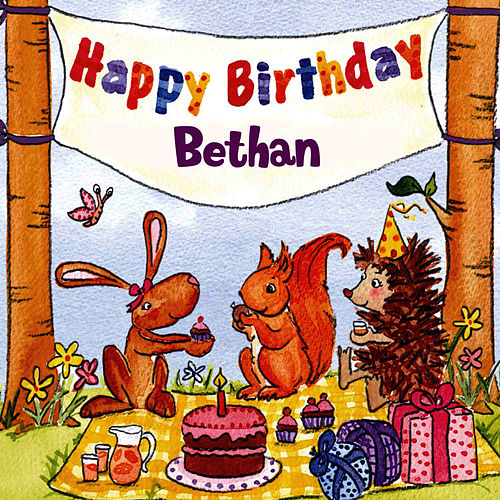Happy Birthday Bethan von The Birthday Bunch