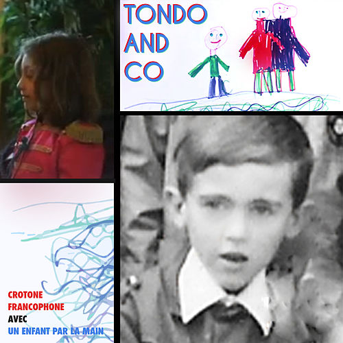 Crotone Francophone avec Un Enfant Par La Main by Tondo and Co