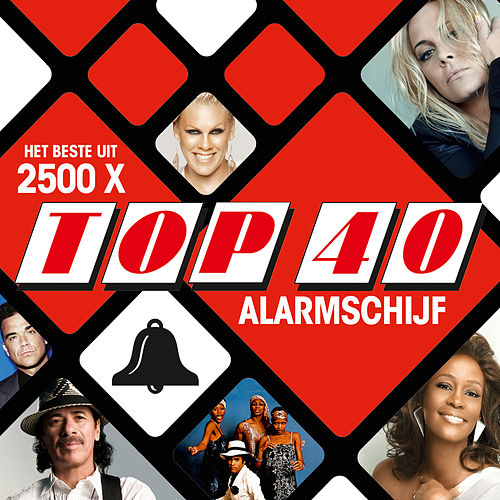 2500 x TOP 40 Alarmschijf van Various Artists
