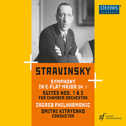 Stravinsky: Symphony in E-Flat Major and Suites Nos. 1 & 2 de Zagreb Philharmonic Orchestra