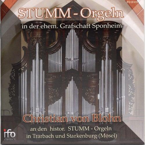 Stumm-Orgeln in der ehemaligen Grafschaft Sponheim (Historische Stumm-Orgeln in Trarbach und Starkenburg, Mosel) von Christian von Blohn