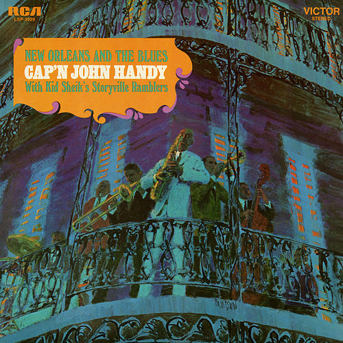 New Orleans and the Blues von Cap'n John Handy