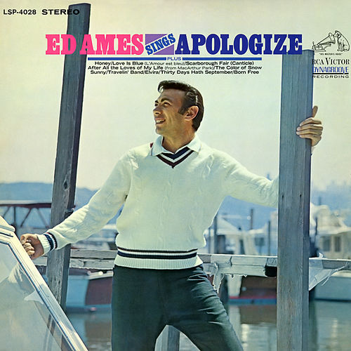 Ed Ames Sings Apologize de Ed Ames