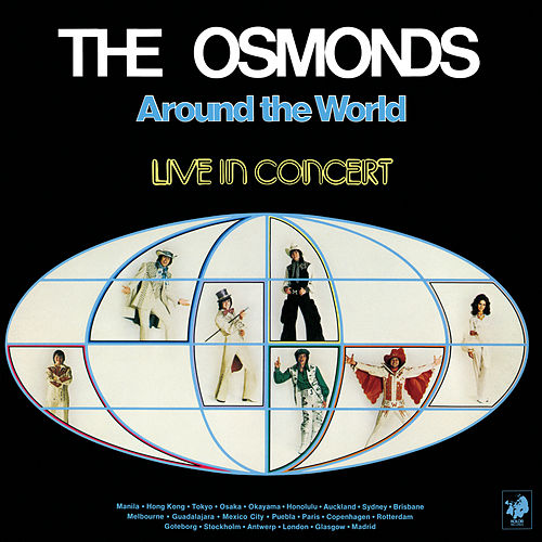 Around The World: Live In Concert von The Osmonds