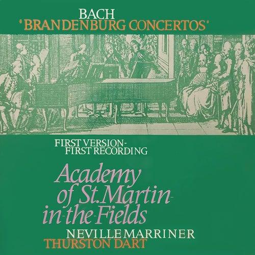 Bach, J.S.: Brandenburg Concertos Nos. 1-6 by Sir Neville Marriner