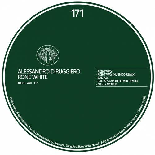 Right Way EP by Alessandro Diruggiero Rone White