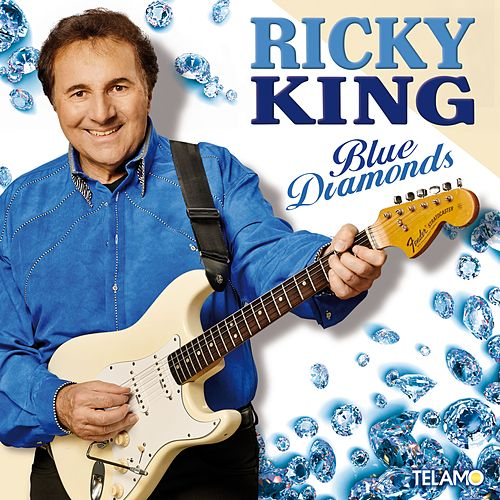 Blue Diamonds by Ricky King