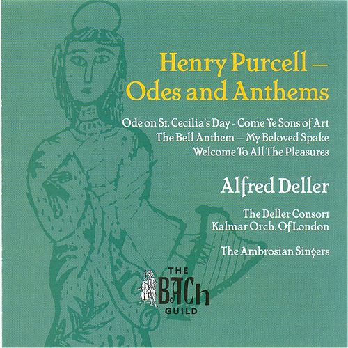 Purcell: Odes and Anthems by Alfred Deller