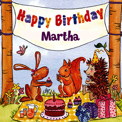 Happy Birthday Martha von The Birthday Bunch