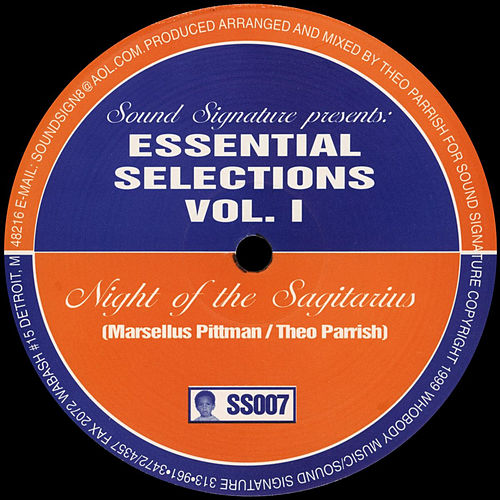 Essential Selections, Vol. 1 von Theo Parrish