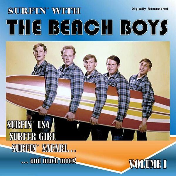 Surfin With The Beach Boys Vol 1 Digitally By The