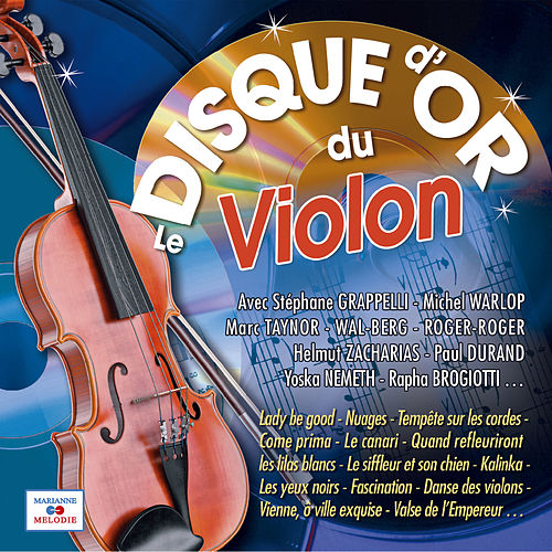Le disque d'or du violon de Various Artists