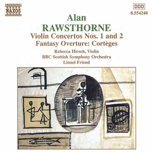 Violin Concertos Nos. 1 and 2 von Alan Rawsthorne