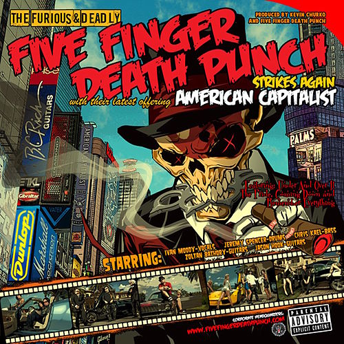 American Capitalist (Standard) de Five Finger Death Punch