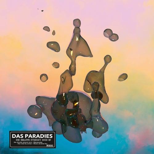 Die Giraffe streckt sich von Paradies
