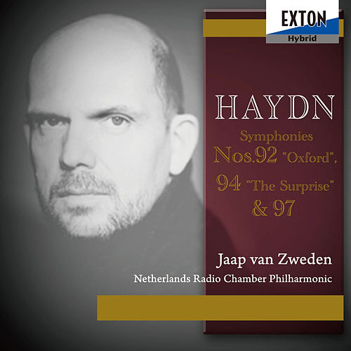 Haydn Vol .1: Symphonies No. 92 Oxford, No. 94 The Surprise & No. 97 de Jaap van Zweden