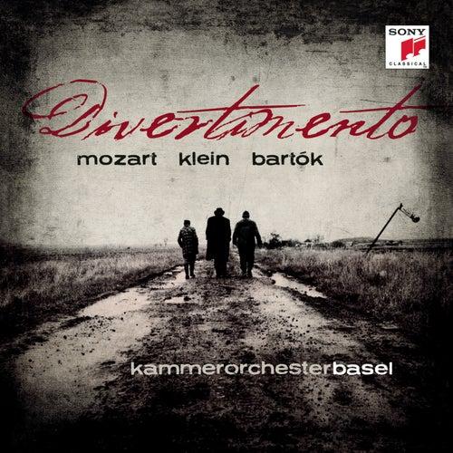 Mozart: Divertimento K 131/G. Klein: Divertimento/B. Bartok: Divertimento for Strings von Kammerorchester Basel