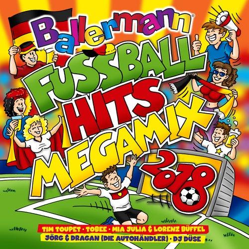 Ballermann Fußball Hits Megamix 2018 von Various Artists